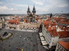 Staroměstské náměstí. Ilustrační foto.