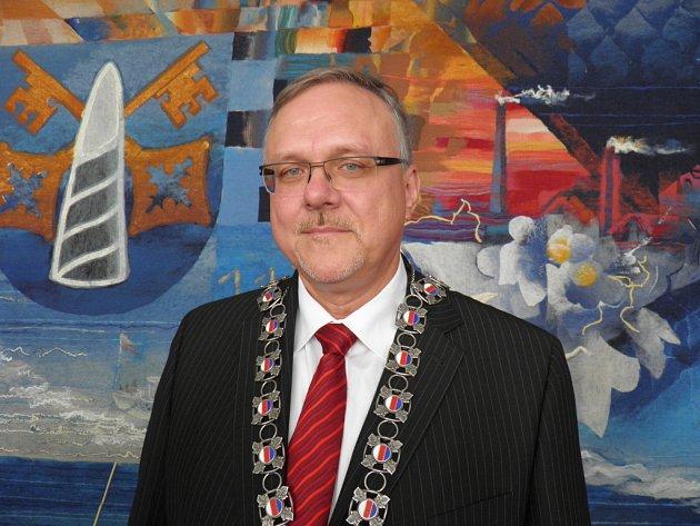 Starosta Prahy 12 Petr Prchal.