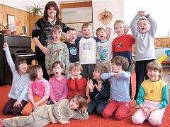 Třída dyslektických dětí, ilustrační foto.