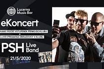 PSH se chystají na eKoncert do Lucerna Music Baru.
