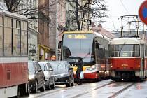 Kolony v Seifertově ulici v Praze.