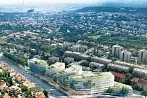 Centrum Bořislavka dílem ateliéru Aulík Fišer architekti, který zvítězil v mezinárodní architektonické soutěži.