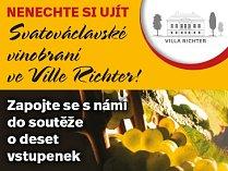 Nenechte si ujít Svatováclavské vinobraní ve Ville Richter! Soutěžte o vstupenky