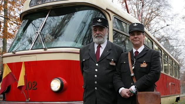50. výročí tramvaje T3