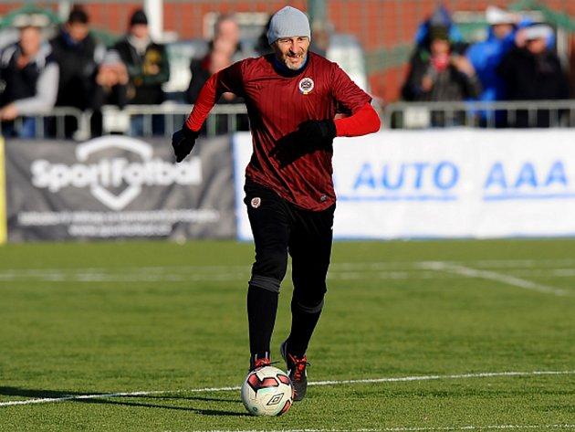 Petr Vrabec vstřelil v derby jeden gól.