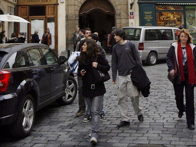 Melantrichova ulice. Ilustrační foto.