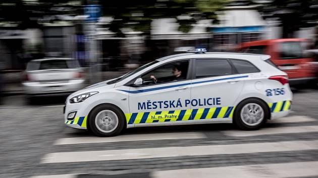 Městská policie Praha. Ilustrační foto.