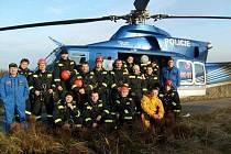 Záchrana životů na laně