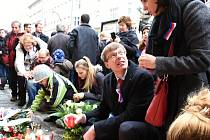 Poklidné akce v centru Prahy k 17. listopadu