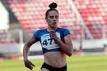 Česká atletka Lada Vondrová.