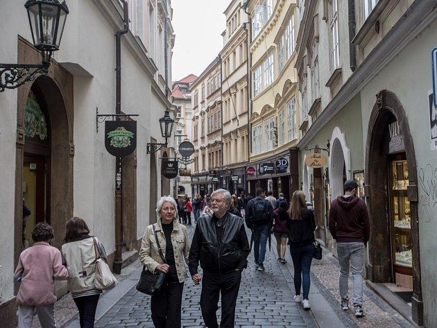 Karlova ulice.