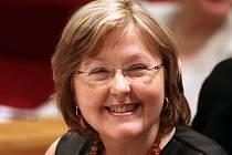 Jana Plamínková při ustavujícím zasedání pražského zastupitelstva.