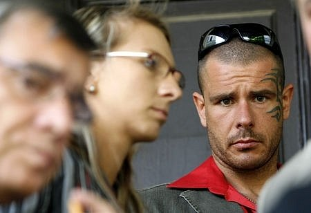 Robert Rosenberg a jeho žena Žaneta u soudu. Oba dostali za svá obvinění podmínku.