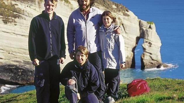 Šimánkovi na Novém Zélandu