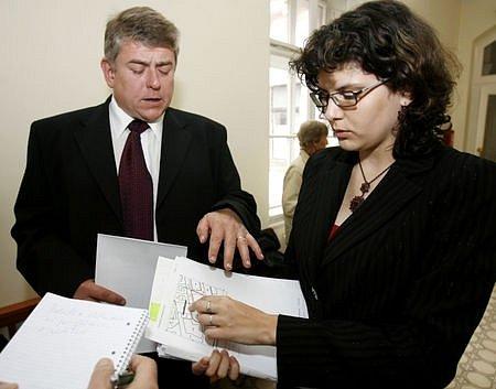 Advokátka Dana Jiříčková a restituent Petr Řehoř před zahájením odvolacího jednání věřili, že uspějí. Stále jsou přesvědčeni, že pravda a právo je na jejich straně.