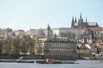 Oprava staroměstského jezu