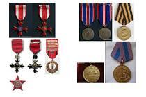 Policisté zveřejnili fotografie odcizených vyznamenání, mezi nimiž nechybí tři Řády Britského impéria, Řád Čestné legie USA, Řád Čestné legie Francie, válečné kříže a další vysoká ocenění, která představují opravdové unikáty.
