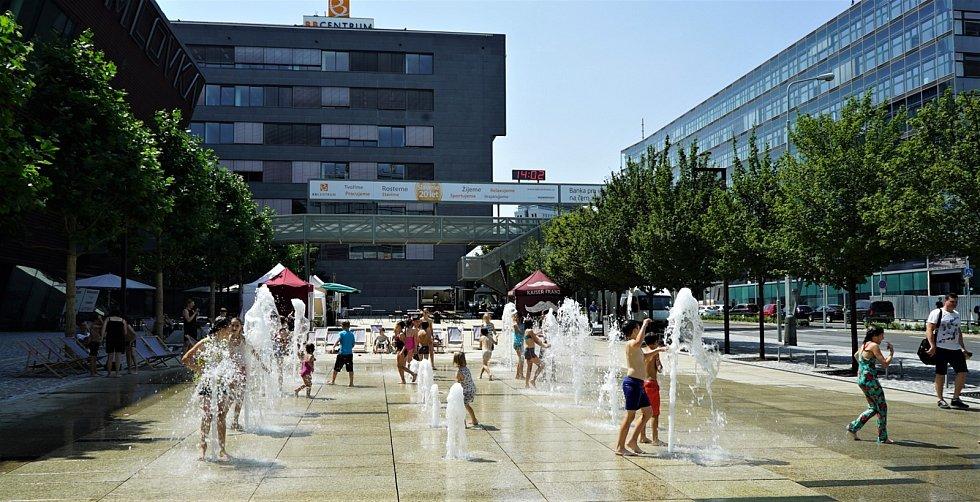 Náměstí Brumlovka v BB Centru