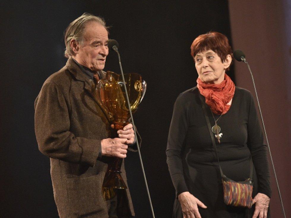 Věra Říčařová a František Vítek.