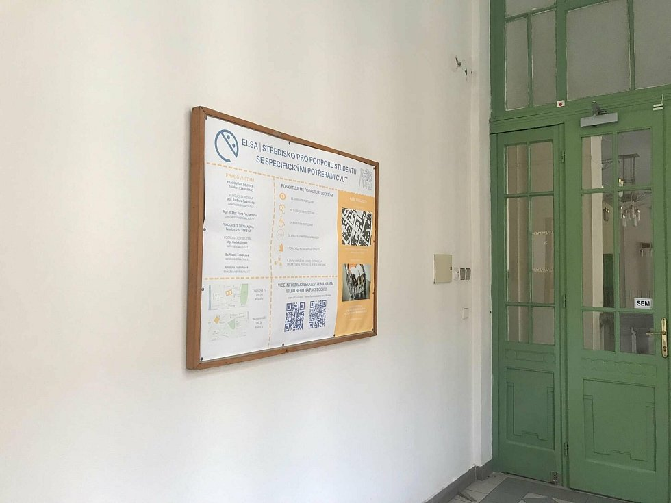 Středisko ELSA, ve kterém působí Radek Seifert, pomáhá studentům se specifickými potřebami.