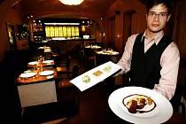 Restaurace La Degustation Boheme Bourgeoise.