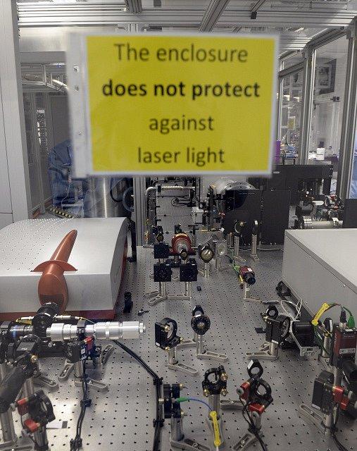 Laserové centrum HiLASE.