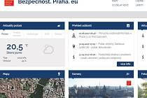 Nový bezpečnostní portál Prahy.