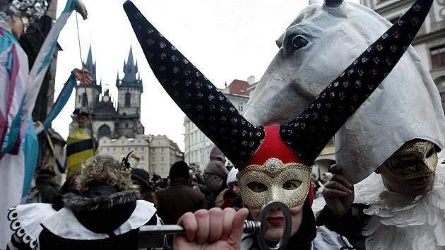 Karneval v Praze.