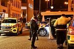 Tragická nehoda v pražském Palladiu.
