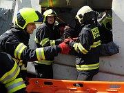 Cvičení jednotky Integrovaného záchranného systému