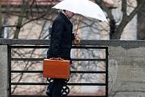 Počasí v Praze ve čtvrtek 5.ledna.