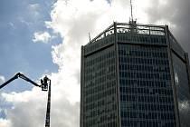 Na Pankráci vyrostla nejvyšší věž z lega na světě