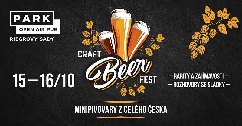 Milovníci piva, pozor, v Riegrových sadech v pátek a v sobotu probíhá festival minipivovarů.
