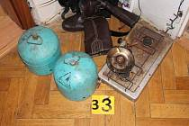 Kompletní varnu pervitinu objevili kriminalisté III. obvodu pražské policie v bytě pětačtyřicetiletého muže