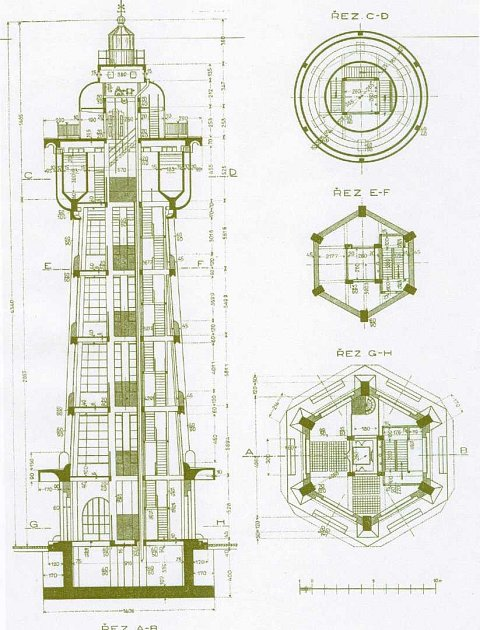 Maják – Na tehdejší dobu byla vodárenská věž ve Kbelích úctyhodným inženýrským počinem. Věž měří 43metrů a její světlo bylo vidět až 80km daleko. To značně ulehčovalo pilotům lokalizovat letiště iza velice špatného počasí.