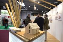 Výstava pasivních domů For Pasiv na výstavišti v Letňanech.