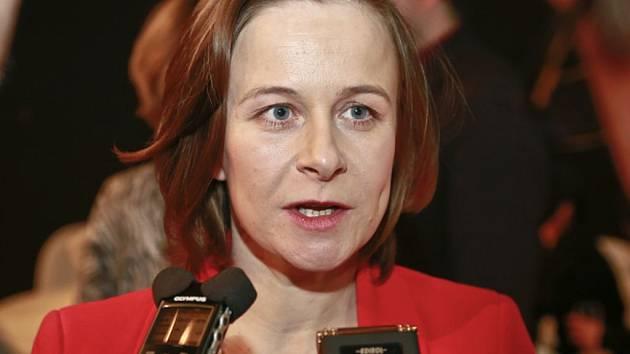 Herečka Petra Špalková.