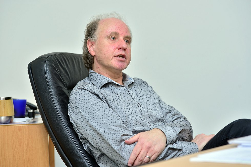 Prorektor pro studium a vzdělávání UJAK Petr Kolář.