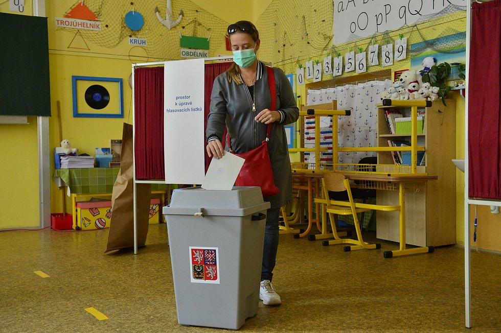 Senátní volby 9. října 2020 v Praze.