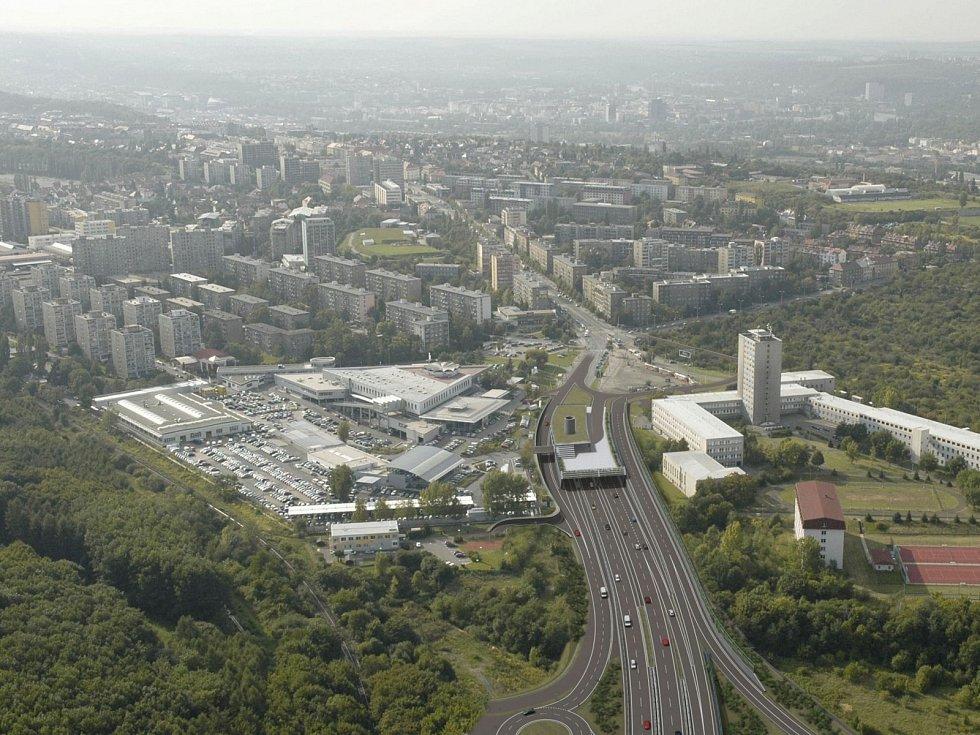 Vizualizace městského okruhu.