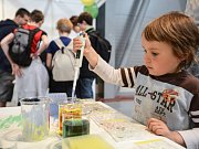 Vystavovatelé připravily aktivity i pro ty nejmenší návštěvníky Veletrhu vědy
