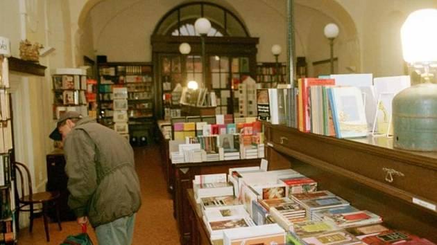 Knihkupectví Franze Kafky.