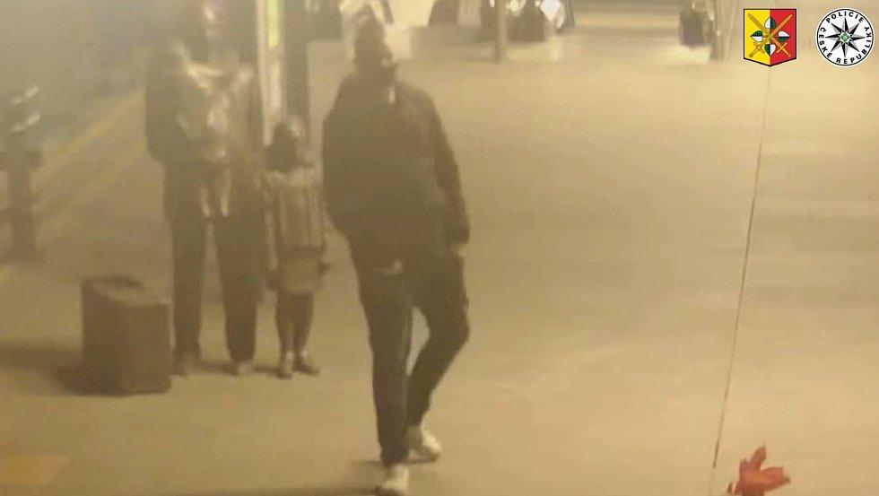 V souvislosti s poškozením sochy sira Wintona hledá policie dvojici mužů.