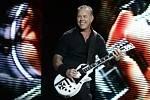 James Hetfield z americké metalové skupiny Metallica, která vystoupila v úterý 8. července 2014 v Praze na festivalu Aerodrome.