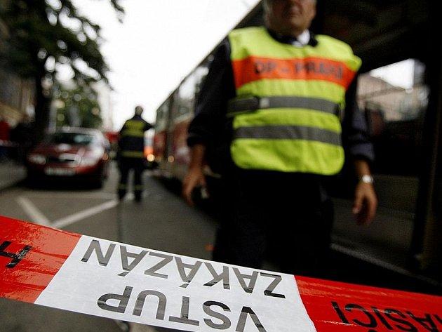 Nehoda tramvaje. Ilustrační foto.