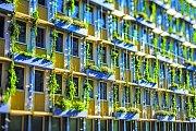 Zelené fasády.