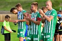 Fotbalisté Bohemians mají za sebou úspěšný týden. Nejprve vyhráli pohárový zápas v Sokolově a v neděli ligový s Teplicemi.