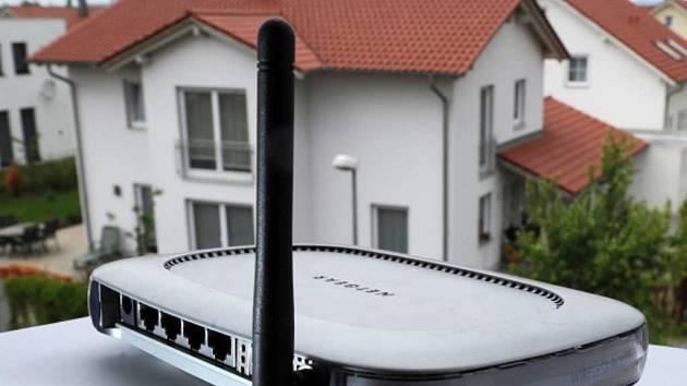 Modem Wi-fi. Ilustrační foto.