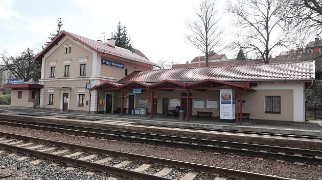 Nádraží Praha - Veleslavín.