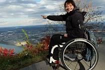 Ředitelka České asociace paraplegiků Alena Jančíková.
